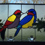 2 vogels in Tiffany