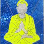 Boeddha Glas in lood en Tiffany