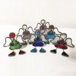 Engeltjes Glas in lood