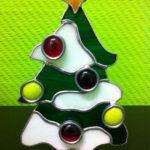 Kerstboom in Tiffany