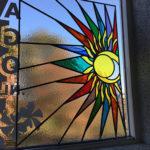 Zon in Glas in lood