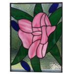 Roos Glas in lood en tiffany