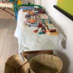 Ibiza tas Workshop materialen