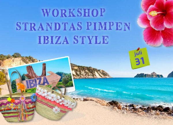 Strandtas Ibiza Style