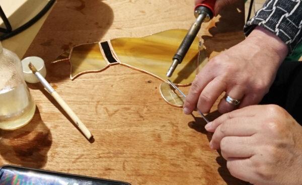 Workshop Tiffany, glas bewerken