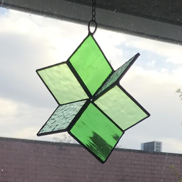 3D Kubus raamhanger