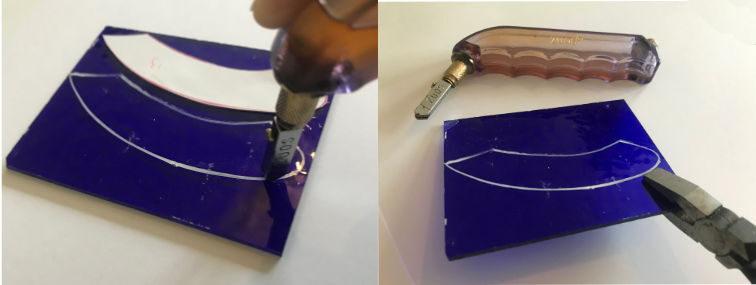 Snijden van glas